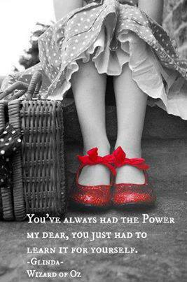 power-red-shoes